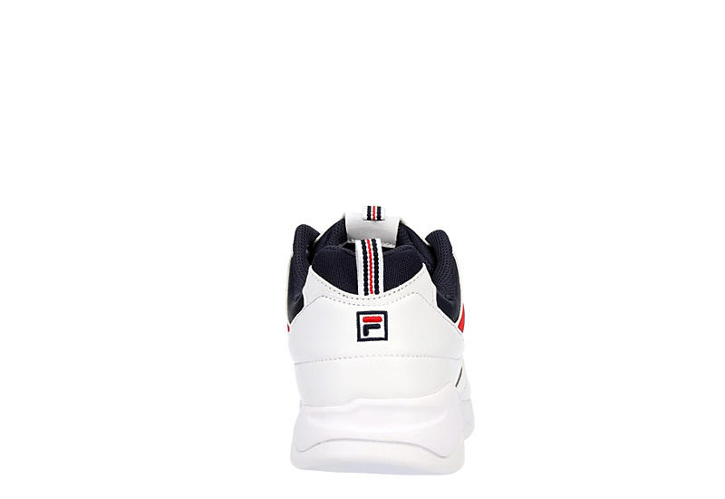 FILA Mens Ray Sneaker - WHITE