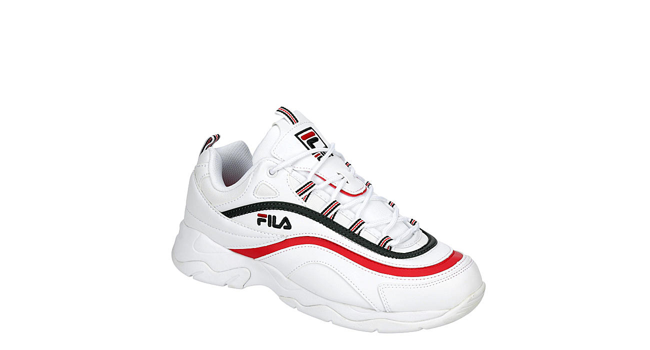 FILA Mens Ray Sneaker - WHITE