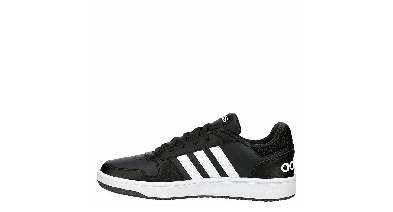 ADIDAS Mens Hoops 2.0 Sneaker - BLACK