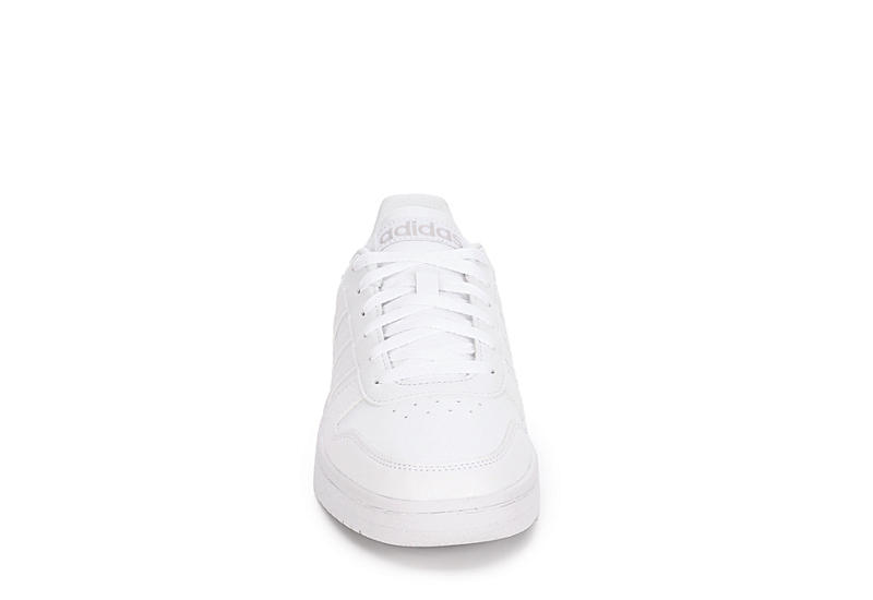 ADIDAS Mens Hoops 2.0 Sneaker - WHITE