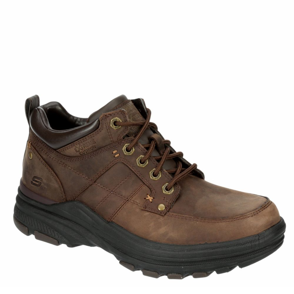skechers relaxed fit memory foam mens shoes