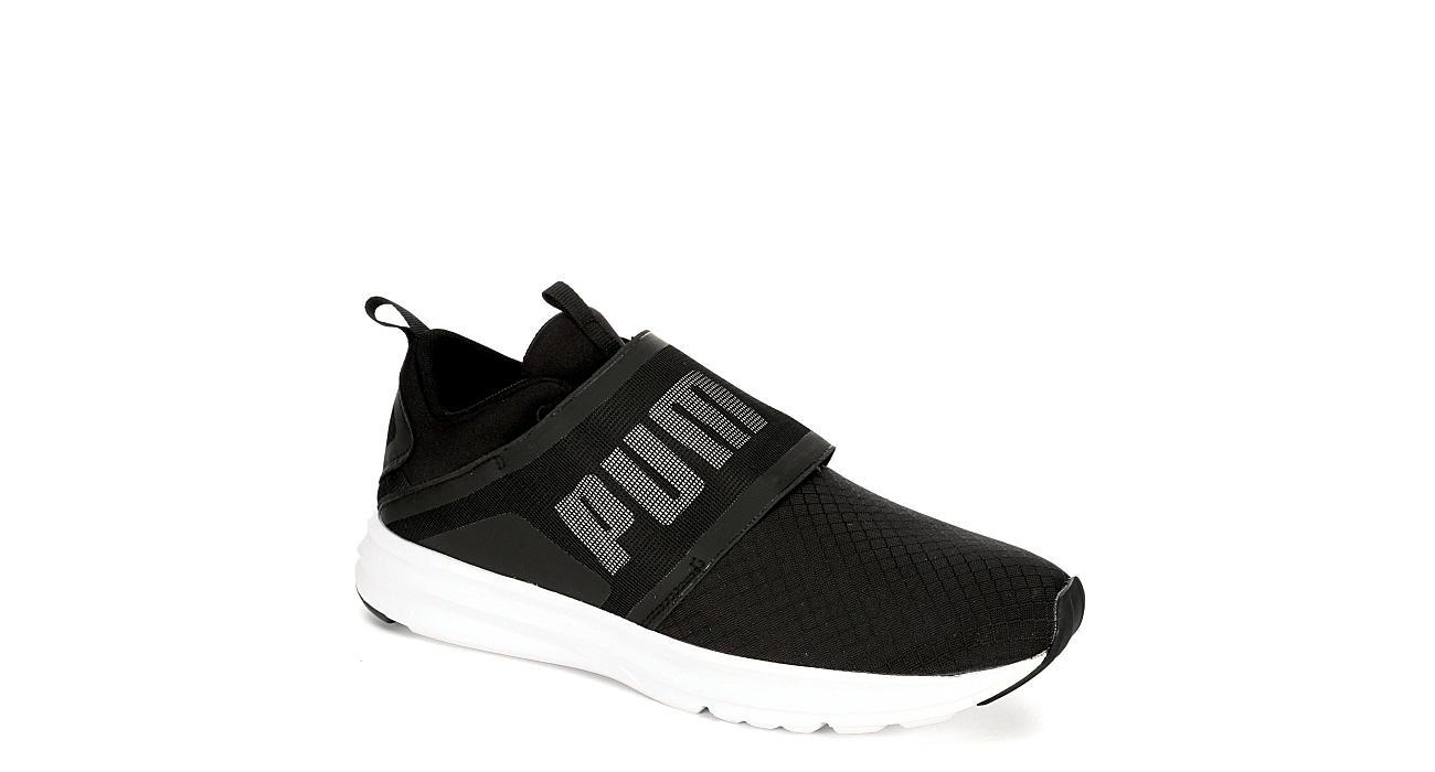 Black Puma Enzo Strap Men s Sneakers  3fbbb483f