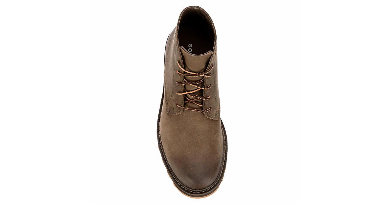 SOREL Mens Madson Chukka Waterproof Boot - BROWN