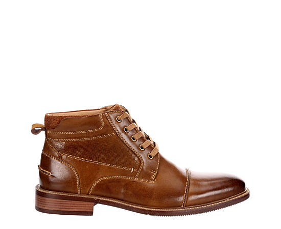 Mens Morris Cap Toe Rugged Casual Boot