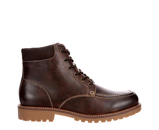 Mens Hazzel Moc Toe Rugged Casual Boot