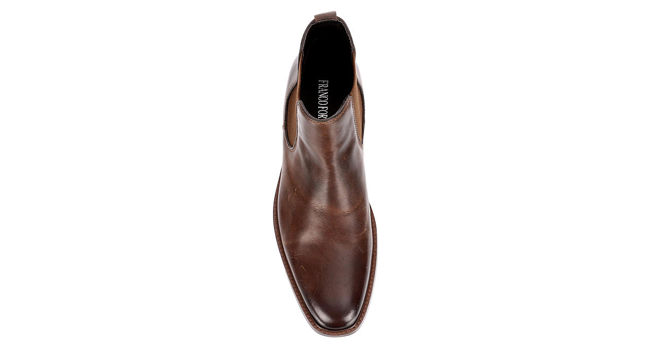 FRANCO FORTINI Mens Pelle - BROWN