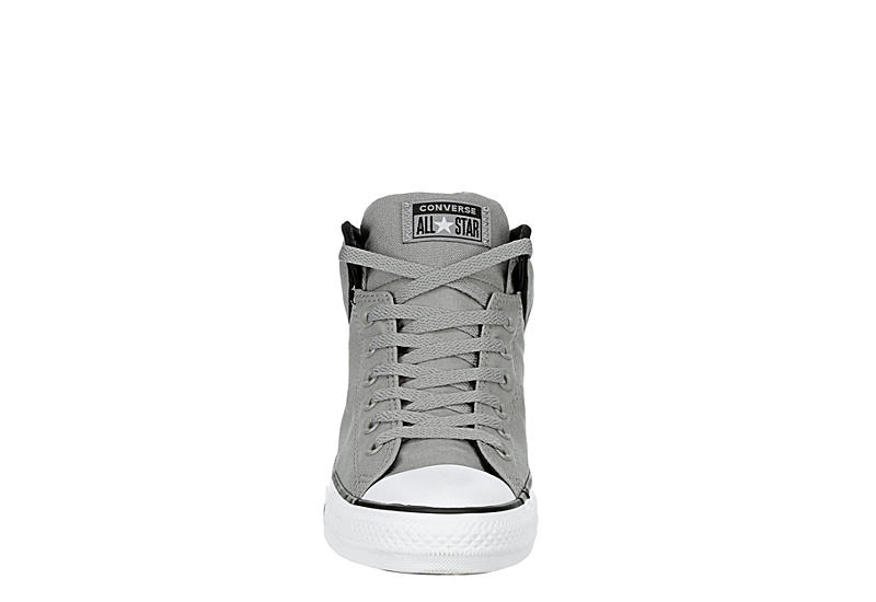 CONVERSE Mens Chuck Taylor All Star High Street High Top Sneaker - GREY