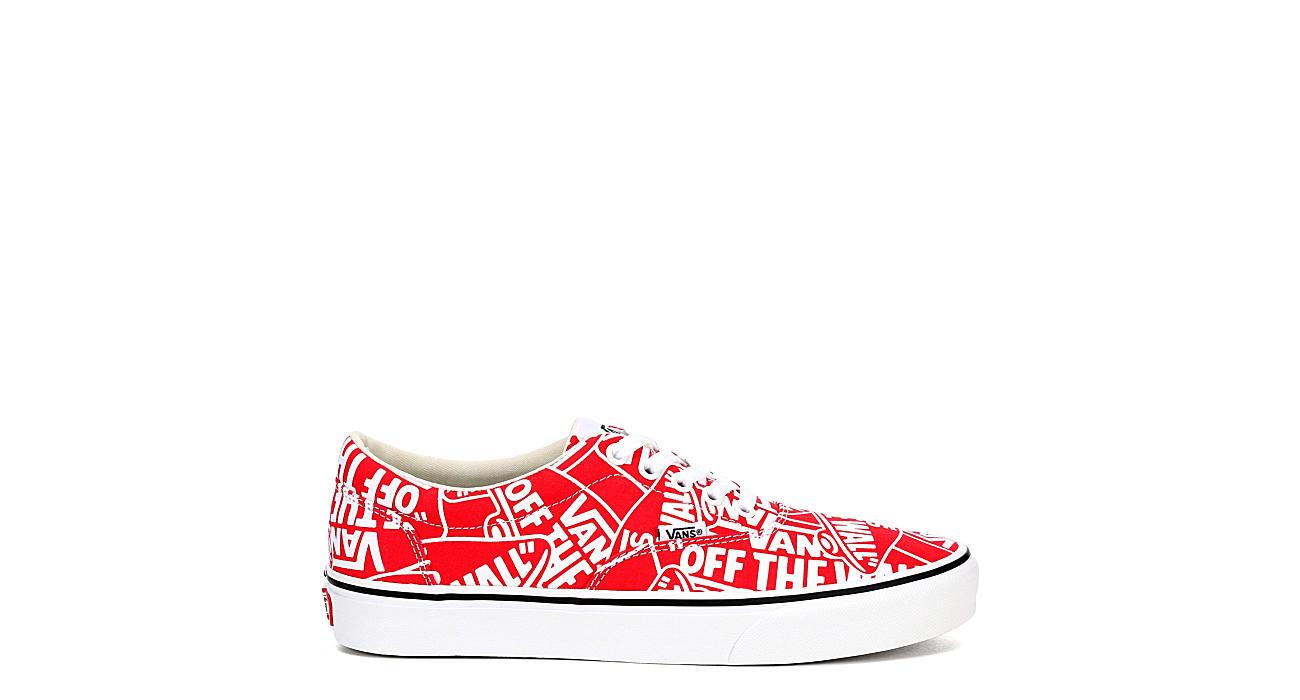 VANS Mens Doheny Sneaker - RED