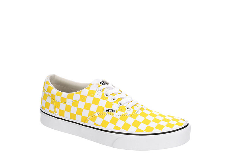 VANS Mens Doheny Sneaker - YELLOW