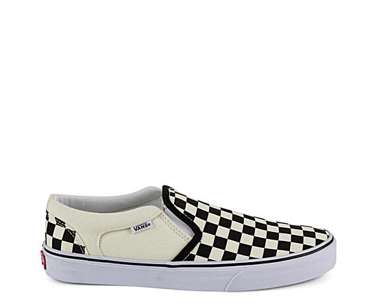 Mens Asher Checkerboard Sneaker