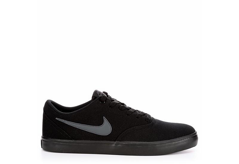 NIKE Mens Sb Check Solarsoft Sneaker - BLACK