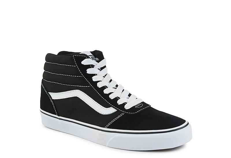 3569ca18096ff Vans Mens Ward High Top Sneaker - Black