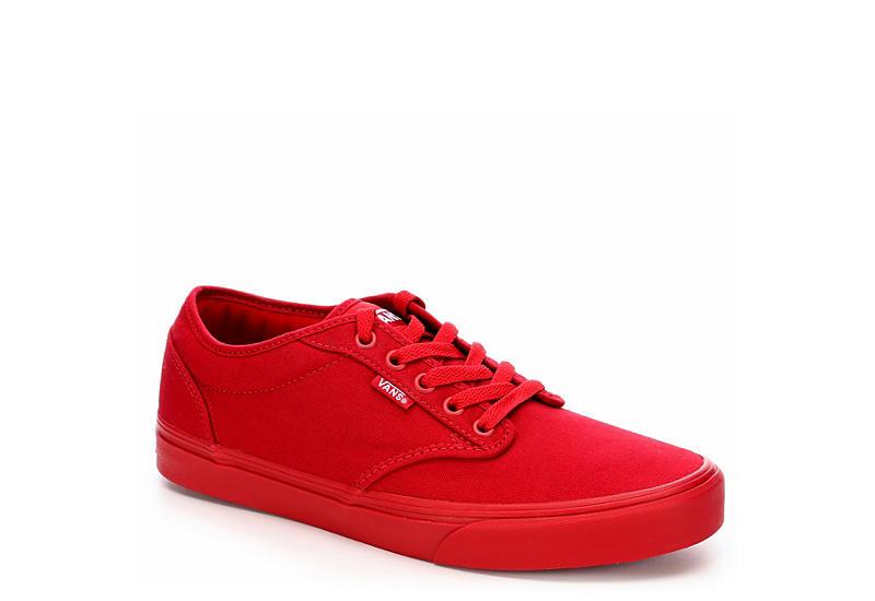 red vans men shoes
