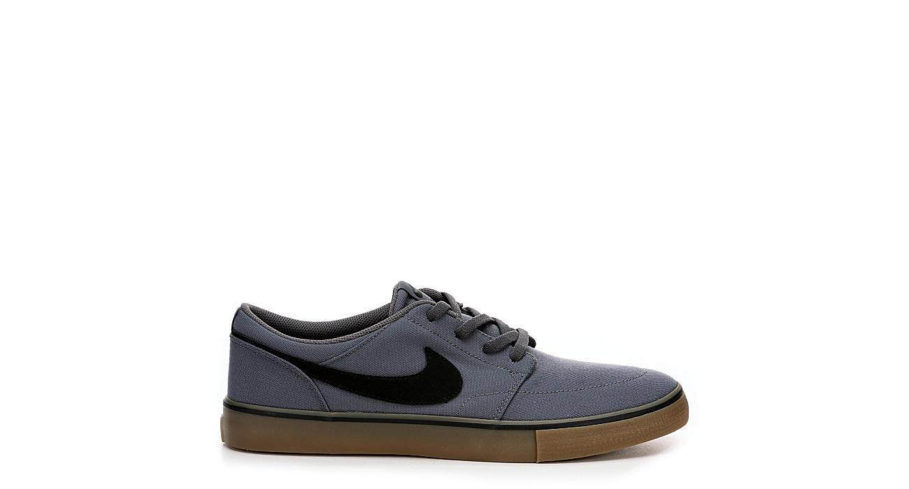 NIKE Mens Sb Portmore 2 Sneaker - GREY