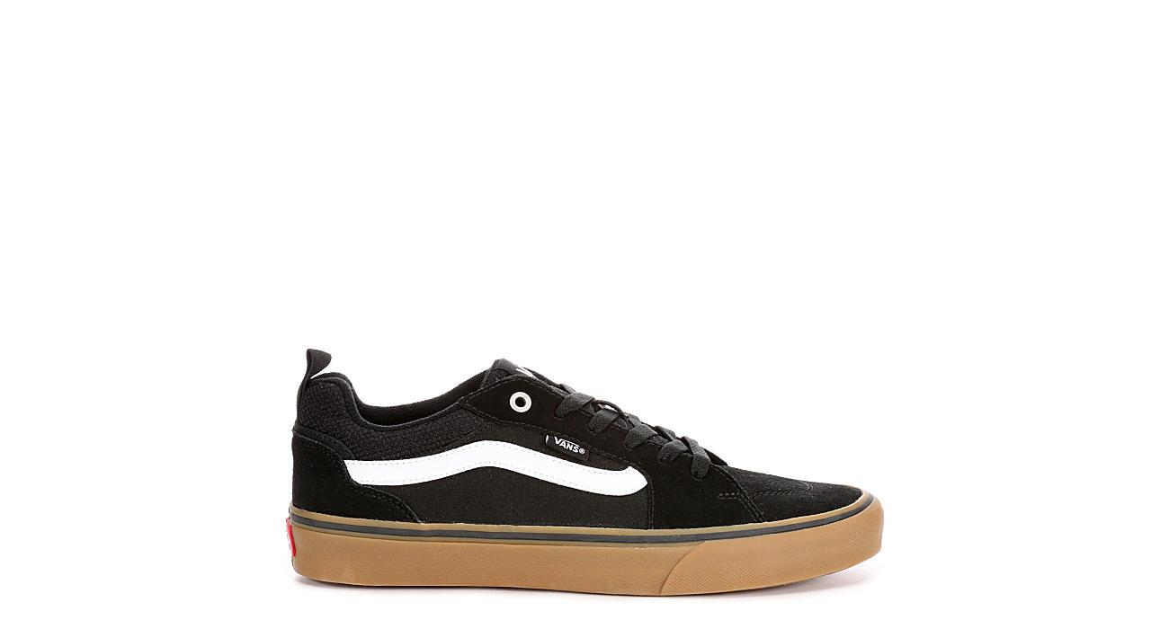 d103fde3bd3441 Black   Gum Vans Filmore Men s Skate Shoes