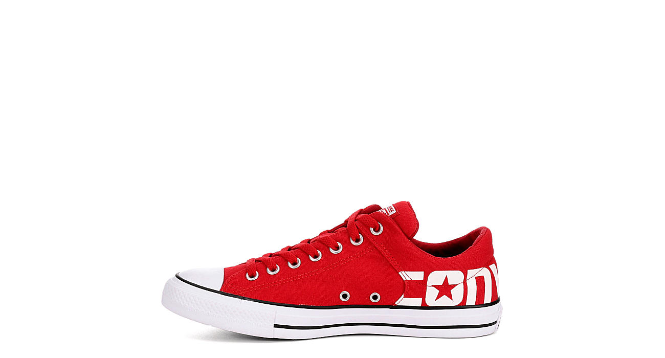 f1fb12ada94182 ... sweden converse mens chuck taylor all star high street ox sneaker red  0be29 73056