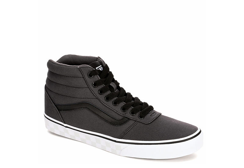 Dark Grey Vans Mens Ward High Top Sneaker  e4821eab0