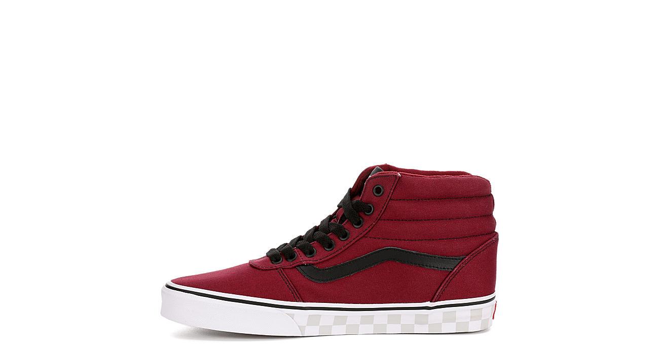 960bb426ce2d Vans Mens Ward High Top Sneaker - Burgundy