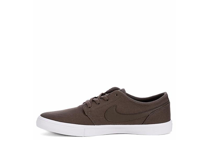 NIKE Mens Portmore 2 Cvs Sneaker - BEIGE