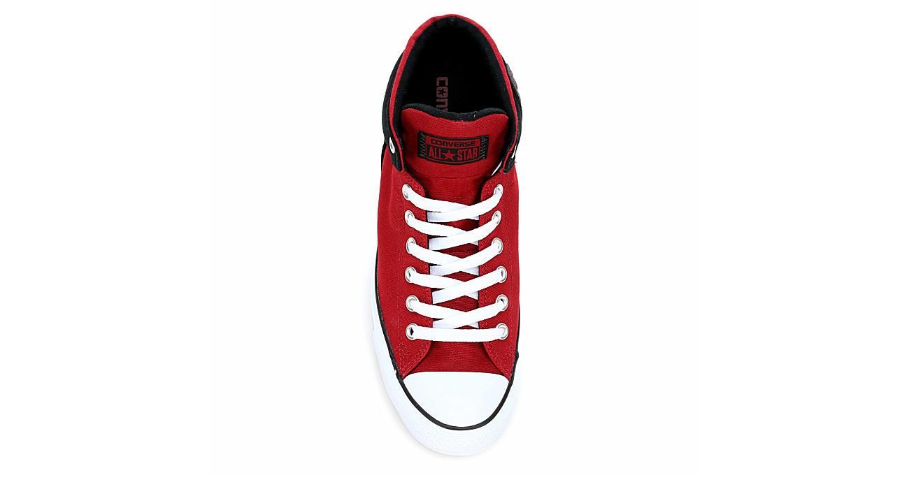 CONVERSE Mens Chuck Taylor All Star High Street Sneaker - RED