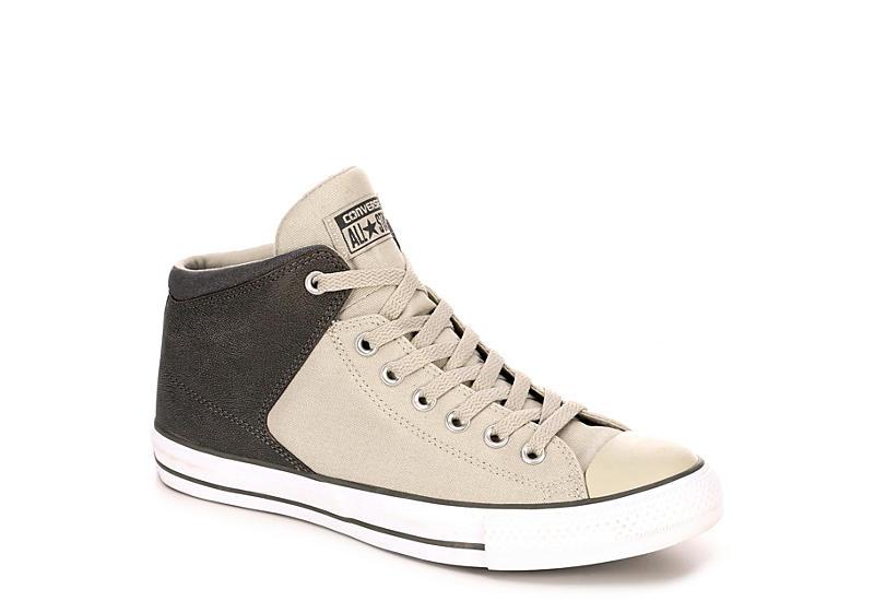 d2b82dbc92f5 Converse Mens Chuck Taylor All Star High Street High Top Sneaker - Grey