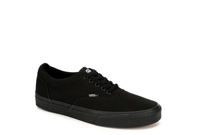 BLACK VANS Mens Doheny Sneaker