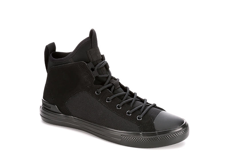 1c09482c3c2869 Black Converse Mens Chuck Taylor All Star Ultra Mid Sneaker ...