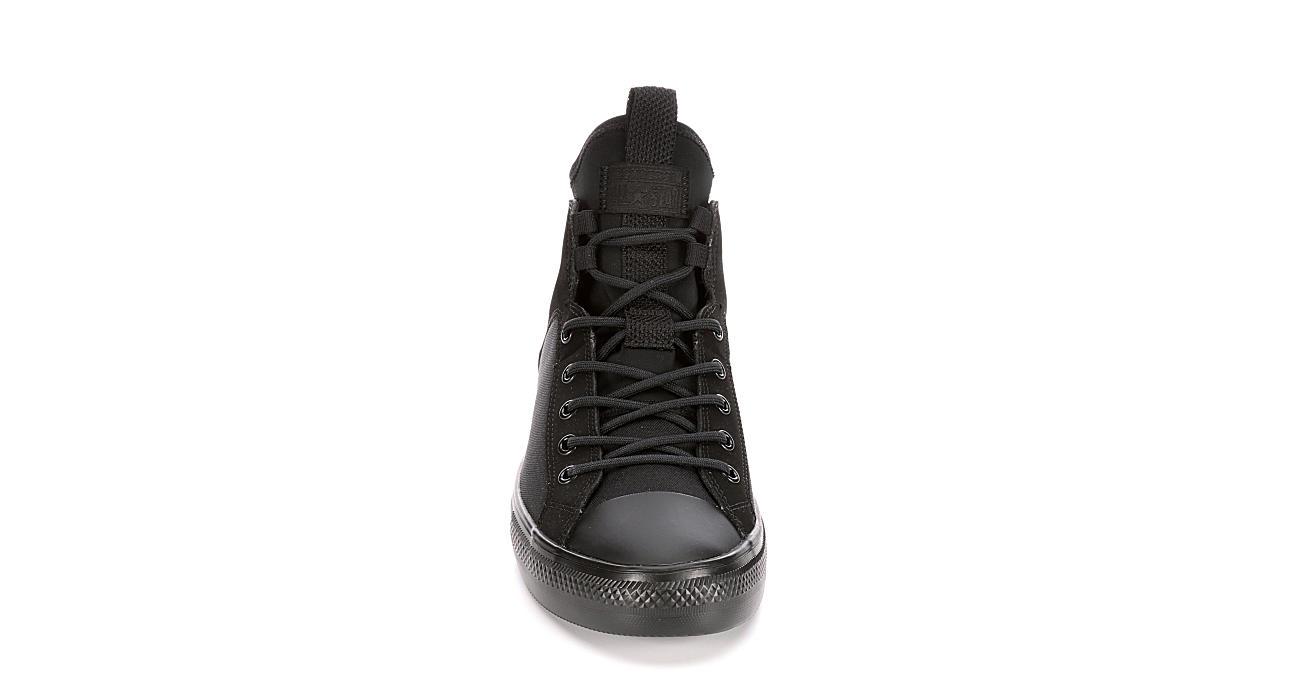 5c47c67a4fa6b7 Black Converse Mens Chuck Taylor All Star Ultra Mid Sneaker ...