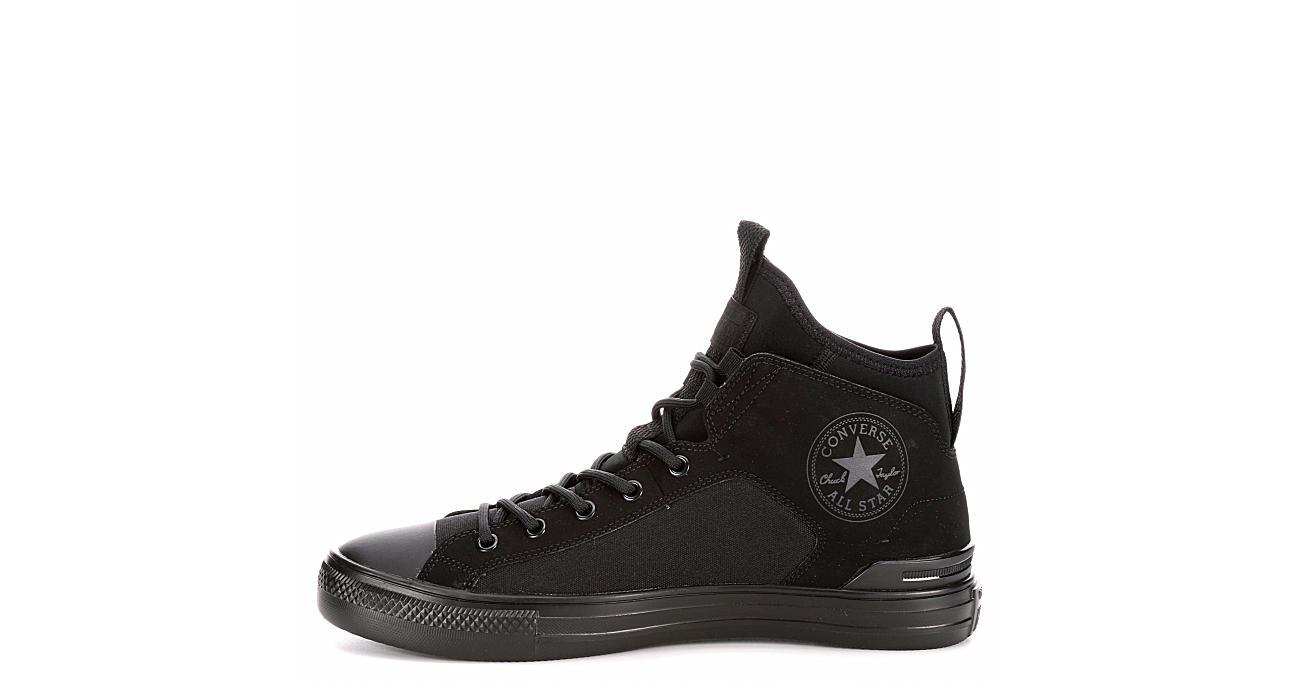 Black Converse Mens Chuck Taylor All Star Ultra Mid Sneaker ... 05e81347177