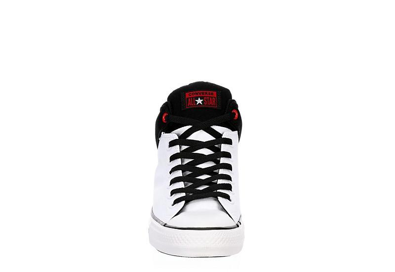 CONVERSE Mens Chuck Taylor All Star High Street High Top Sneaker - WHITE