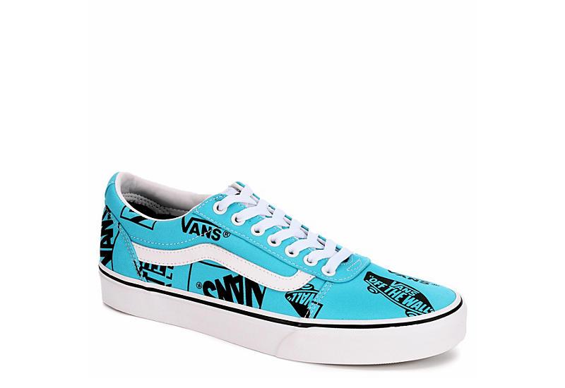 3c39f202933c Vans Mens Ward Low Sneaker - Turquoise