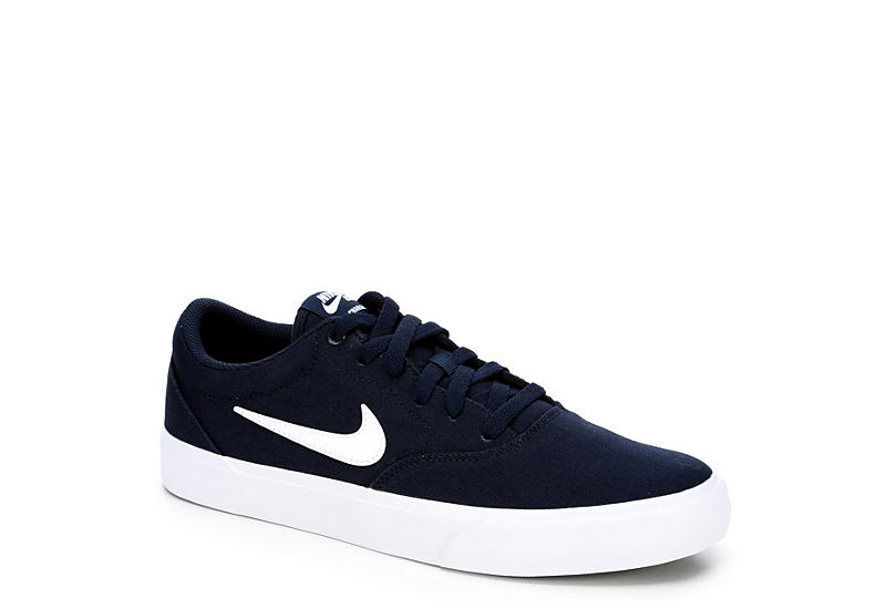 NIKE Mens Sb Charge Sneaker - NAVY