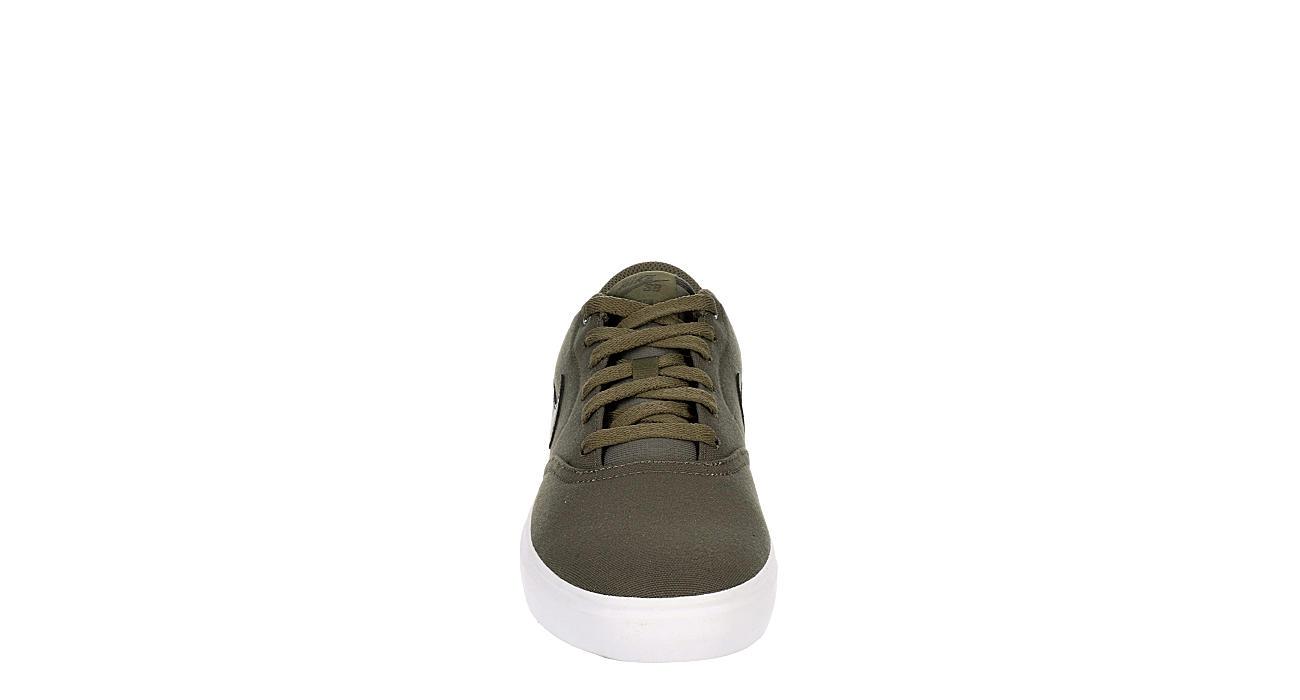NIKE Mens Sb Check Solar Sneaker - OLIVE