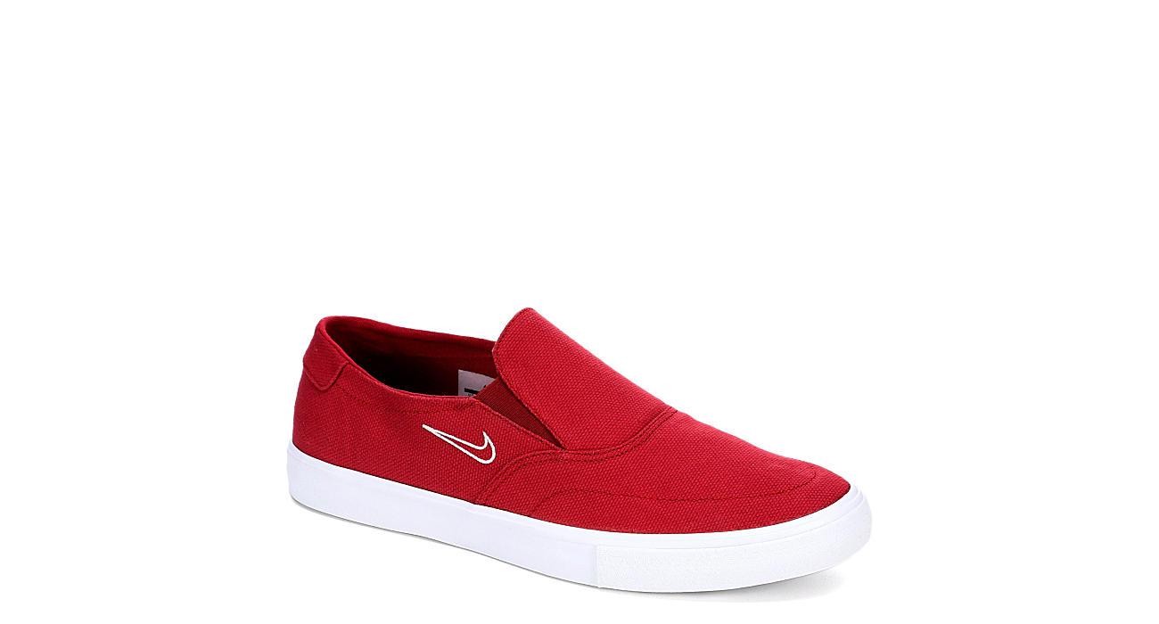 NIKE Mens Portmore 2 Slip - RED