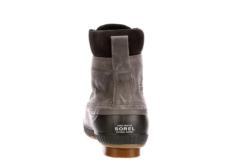 SOREL Mens Cheyanne Ii Waterproof Insulated Duck Boot - GREY