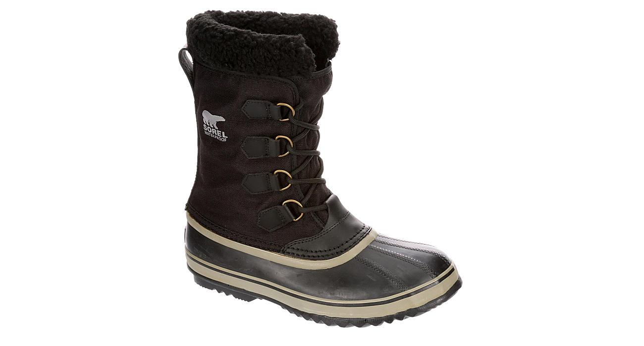 SOREL Mens 1964 Pac Nylon Waterproof Insulated Boot - BLACK