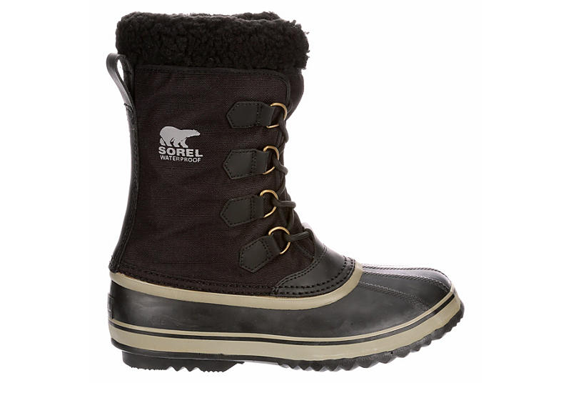 SOREL Mens 1964 Pac Nylon - BLACK