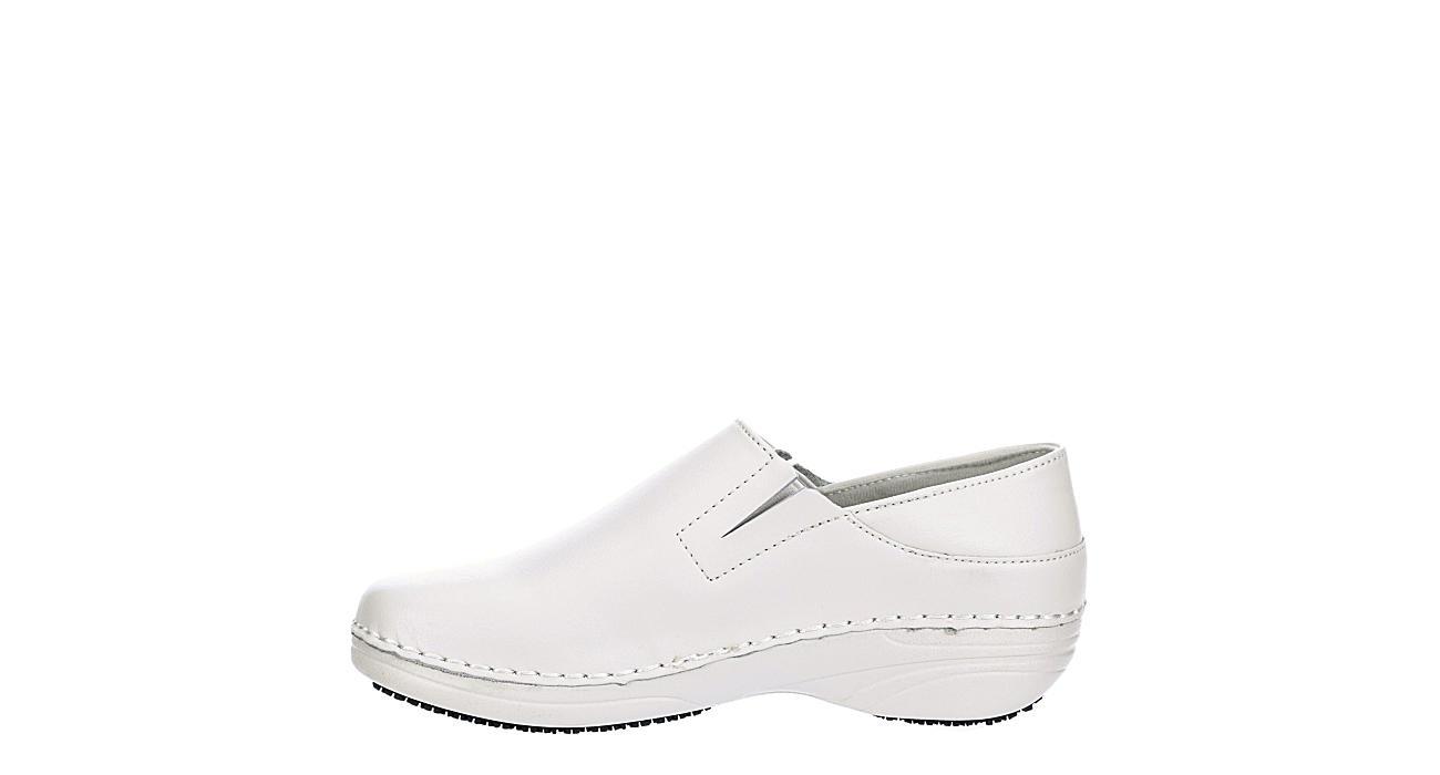 SPRING STEP Womens Manila Slip Resistant Clog - WHITE