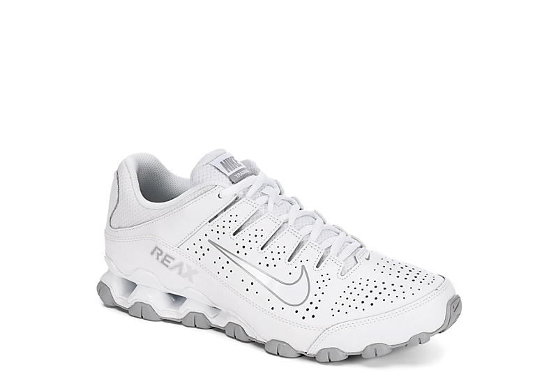 7260b733cf33 Nike Mens Reax Tr 8 Leather Training Shoe - White
