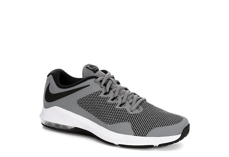 6d5df408cb289 Grey Nike Mens Alpha Trainer Training Shoe | Athletic | Off Broadway ...
