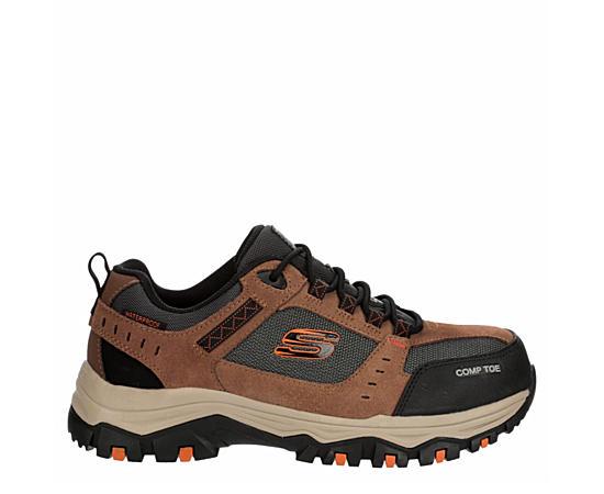 Mens Skechers Greetah Composite Toe Work Shoe