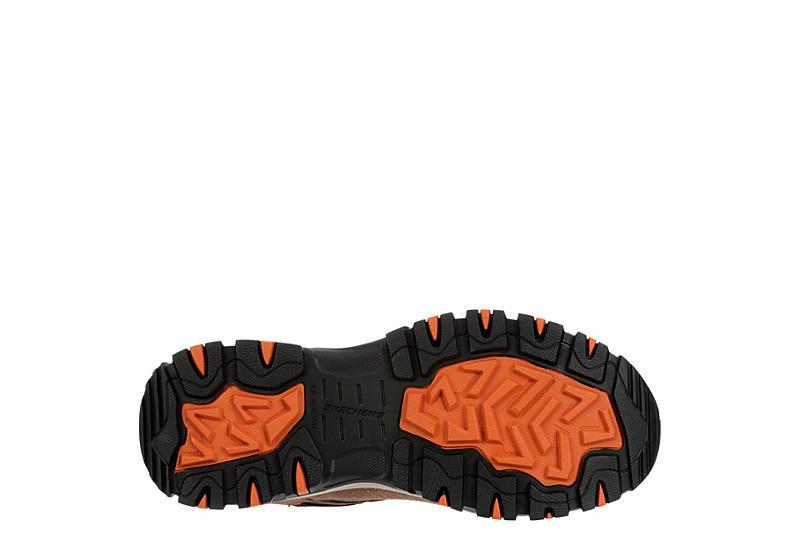 Skechers Mens Skechers Greetah Composite Toe Brown