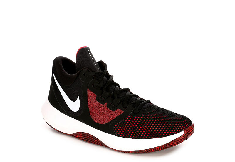 online store 0fa40 b0bc5 Nike Mens Air Precision 2 Basketball Shoe - Black