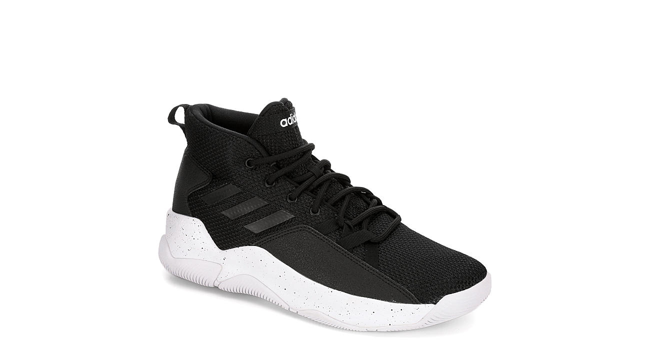 ADIDAS Mens Street Fire Basketball Shoe - BLACK
