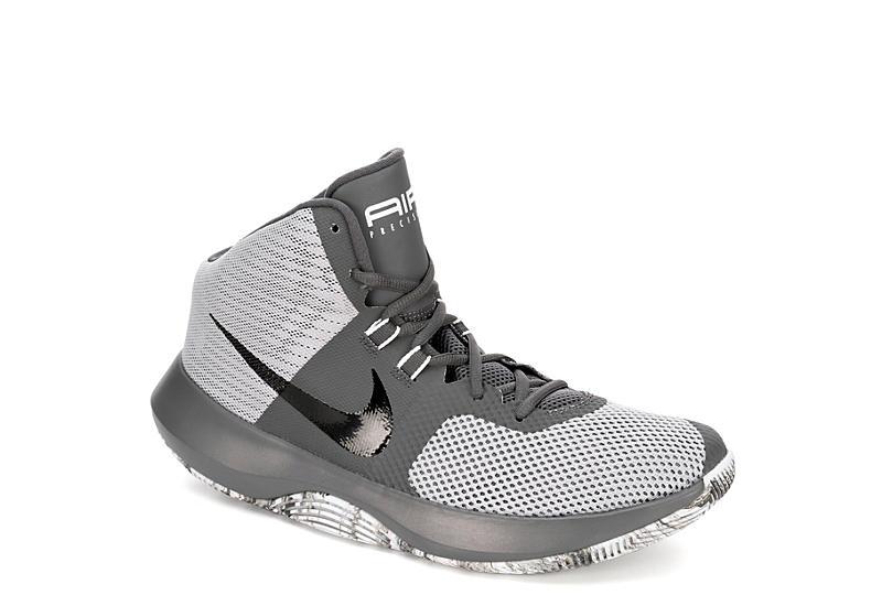 NIKE Mens Precision 1 Basketball Shoe - GREY