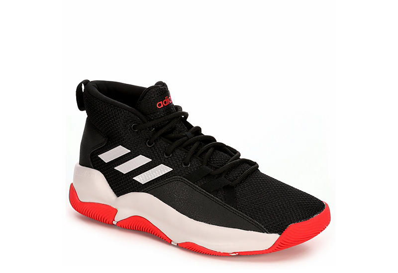 09b9757fc9c9 Adidas Mens Street Fire Basketball Shoe - Black