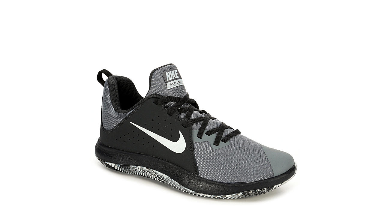 f08b285cf1e0 Nike Mens Fly By Low Basketball Shoe - Grey
