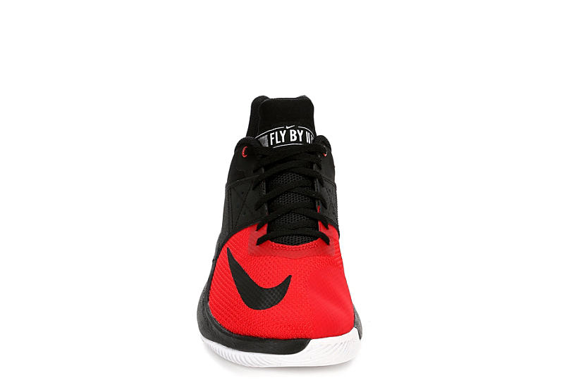 NIKE Mens Fly.by Low Ii Basketball Shoe - BLACK