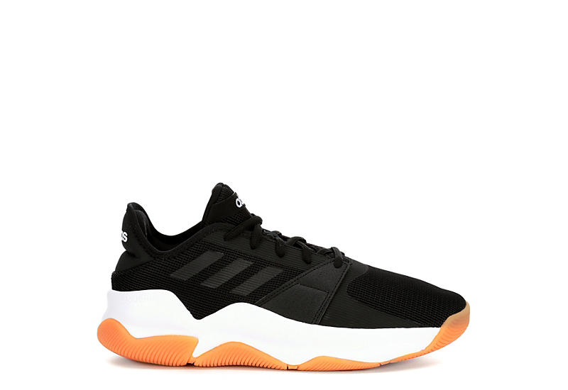 ADIDAS Mens Street Flow Basketball Shoe - BLACK