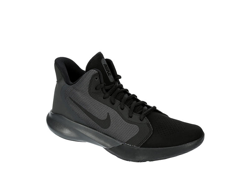 NIKE Mens Precision Iii Basketball Shoe - BLACK